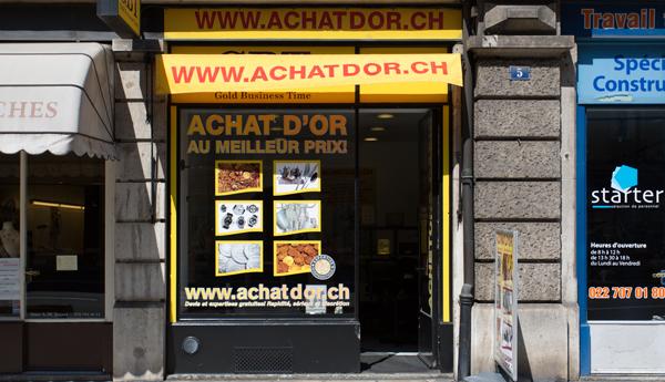 negozio di acquisto di oro a Ginevra Eaux-vives