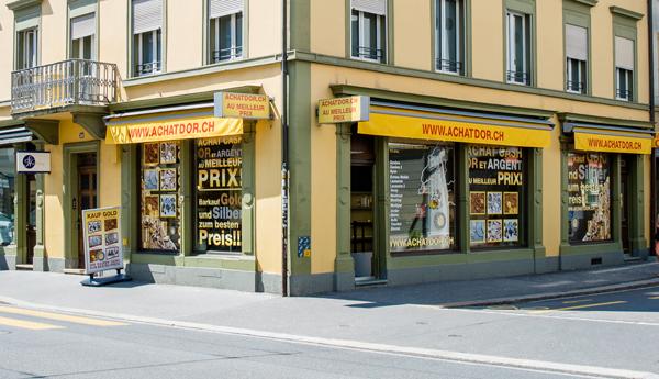 negozio di acquisto di oro Bienne