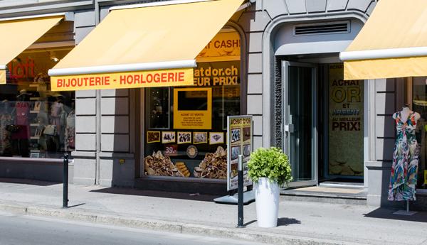 negozio di acquisto di oro Montreux Vaud