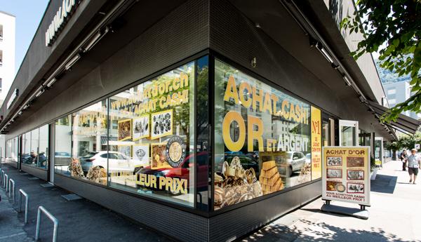negozio di acquisto di oro a Martigny