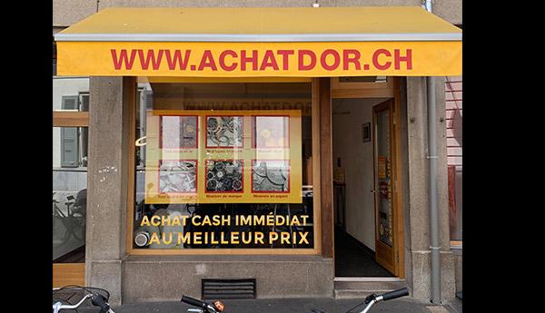 negozio di acquisto di oro a Vevey