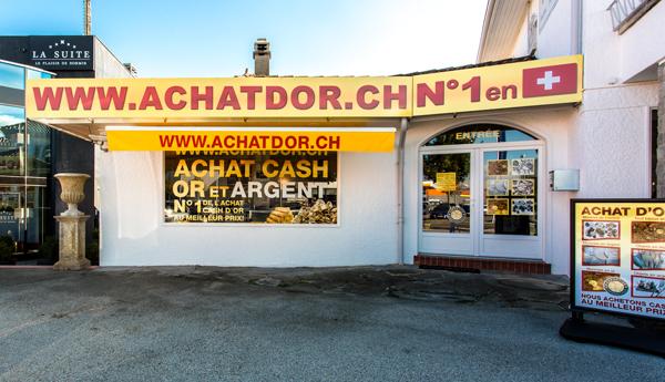 negozio di acquisto di oro Etoy Vaud