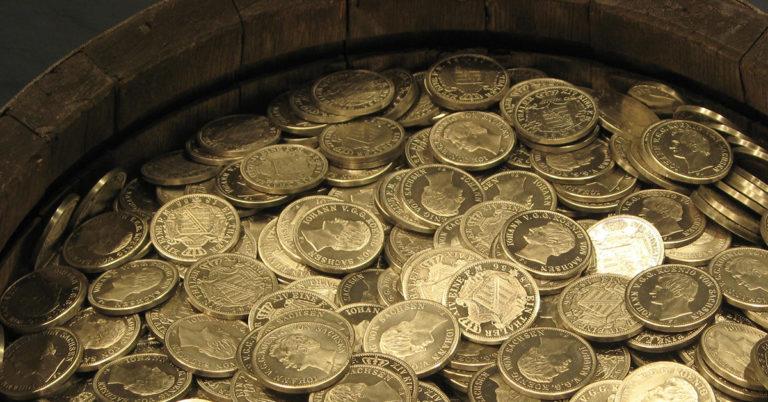 Un tesoro! 2000 monete d'oro in Borgogna
