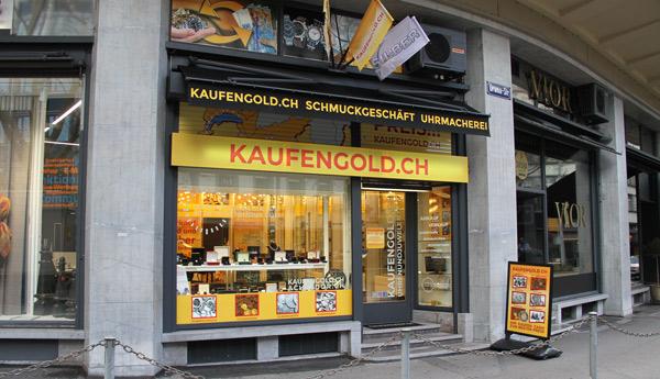 Negozio d'oro di Zurigo