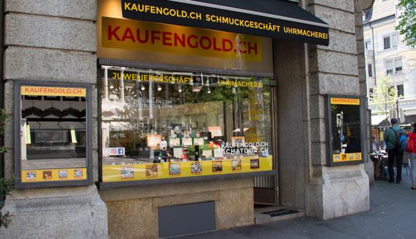 negozio di acquisto di oro a Lucerna