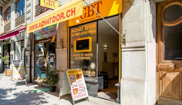 negozio di acquisto di oro a Genève Gare