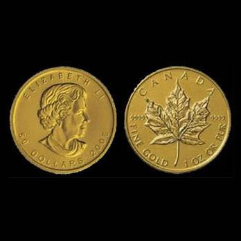 Monete d'oro canada