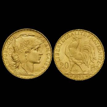 monete d'oro francia