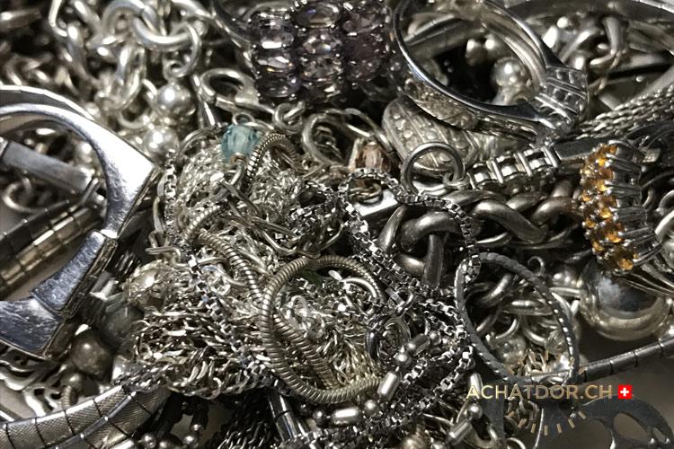 Compro argento e metalli preziosi in Svizzera