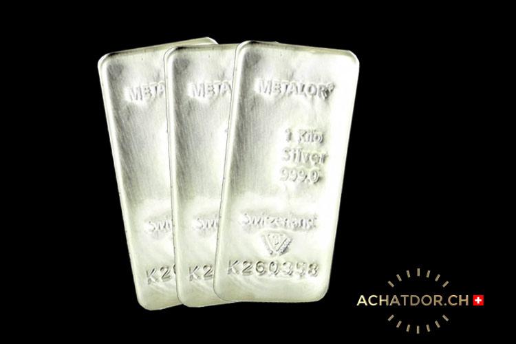 lingotti d'argento
