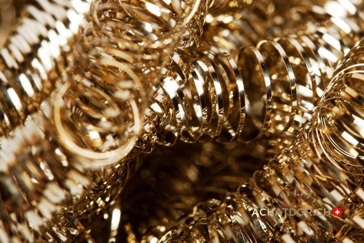 rifiuti industriali d'oro