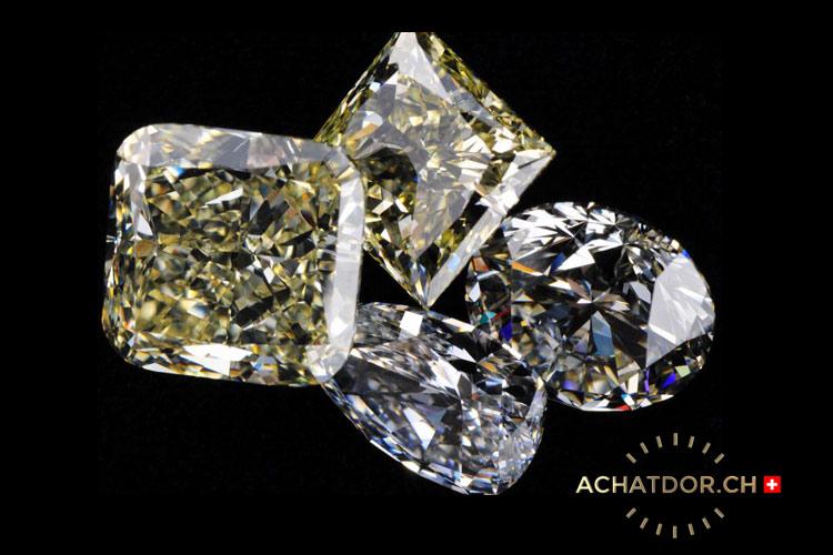 Diamanti della pietra preziosa