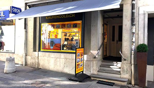 negozio di compravendita di oro Soletta