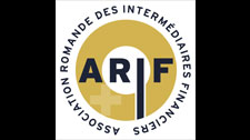 Sito web Romande Association of Financial Intermediaries (ARIF)
